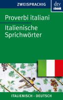 Proverbi italiani Italienische Sprichwörter