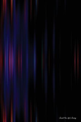 Blurred Dark Effect Background Lined Journal