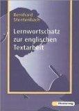 Lernwortschatz zur englischen Textarbeit.