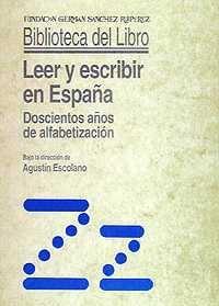 Leer y escribir en España