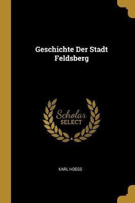 Geschichte Der Stadt Feldsberg