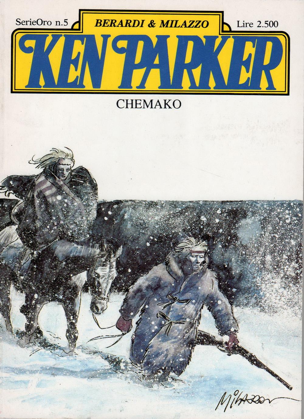 Ken Parker Serie Oro n.5