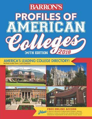 Barron's Profiles of American Colleges 2018