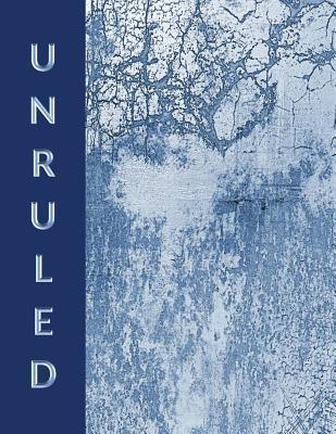 Unruled Composition Notebook Blue