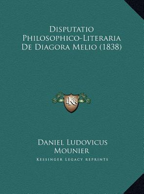 Disputatio Philosophico-Literaria de Diagora Melio (1838)