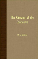 The Climates of the Continents