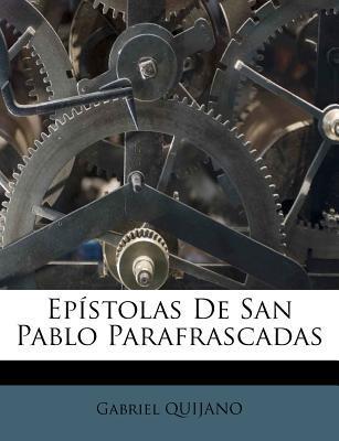 Epistolas de San Pablo Parafrascadas