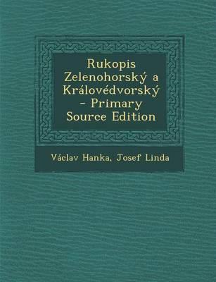 Rukopis Zelenohorsky a Kralovedvorsky