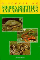 Discovering Sierra Reptiles and Amphibians
