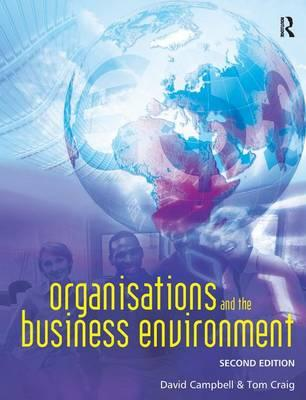 Organisations and the Business Environment