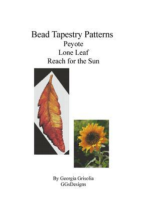 Bead Tapestry Patterns Peyote Lone Leaf Reach for the Sun
