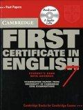 Cambridge First Certificate in English 7 Self Study Pack