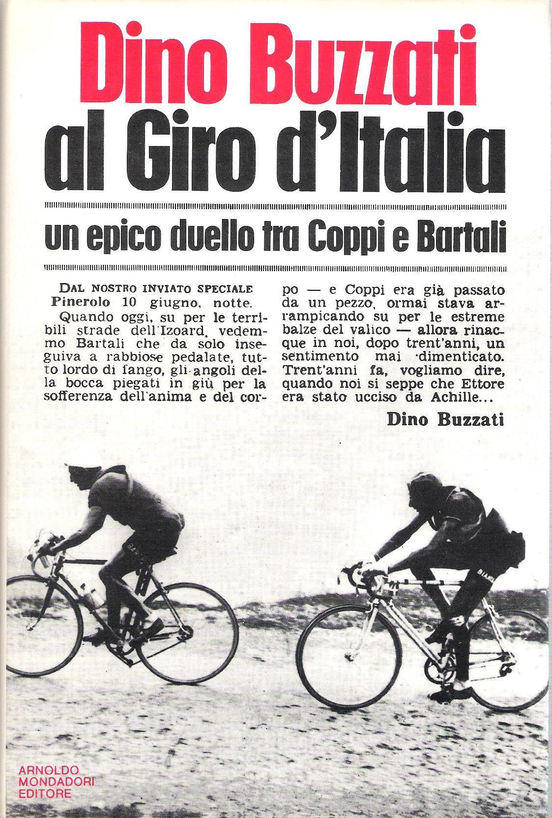 Dino Buzzati al Giro...