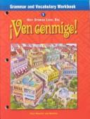 Ven Conmigo Grammar and Vocabulary