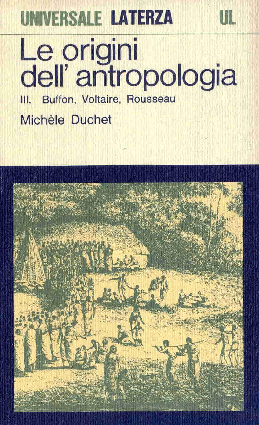 Le origini dell'antropologia
