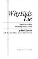 Why Kids Lie