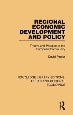 Regional Economic Development and Policy