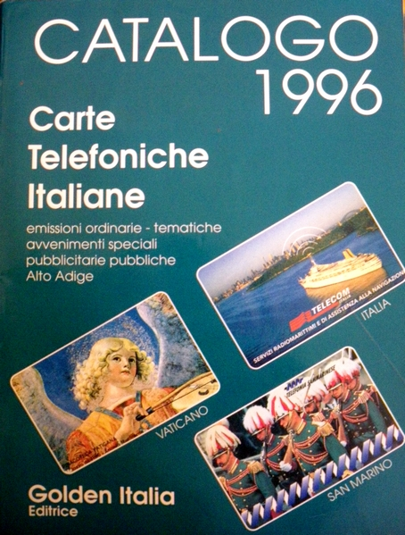 Catalogo carte telefoniche italiane 1996