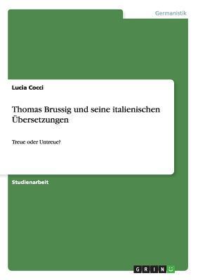 Thomas Brussig und seine italienischen Übersetzungen