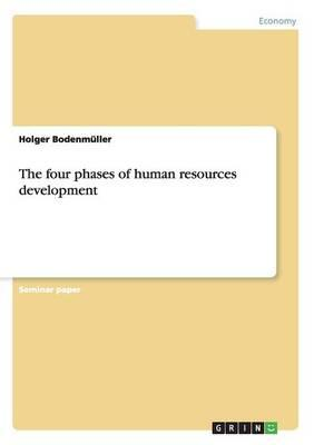 The four phases of human resources development