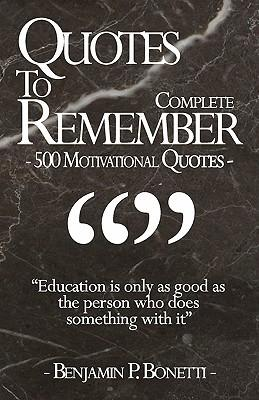 Quotes to Remember - Complete