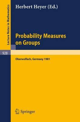 Probability Measures on Groups