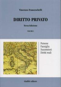 Diritto privato / Persone, famiglia, successioni, diritti reali