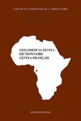Gedandedi Sa Geviya. Dictionnaire Geviya-francais K12