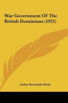 War Government of the British Dominions (1921)