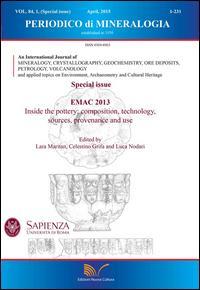 Periodico di mineralogia (2015). Ediz. inglese