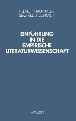 Einführung in Die Empirische Literaturwissenschaft