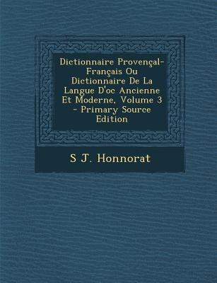 Dictionnaire Provenc...