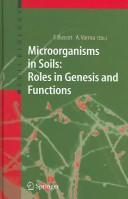 Microorganisms in soils
