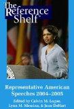 Representative American Speeches 2004-2005