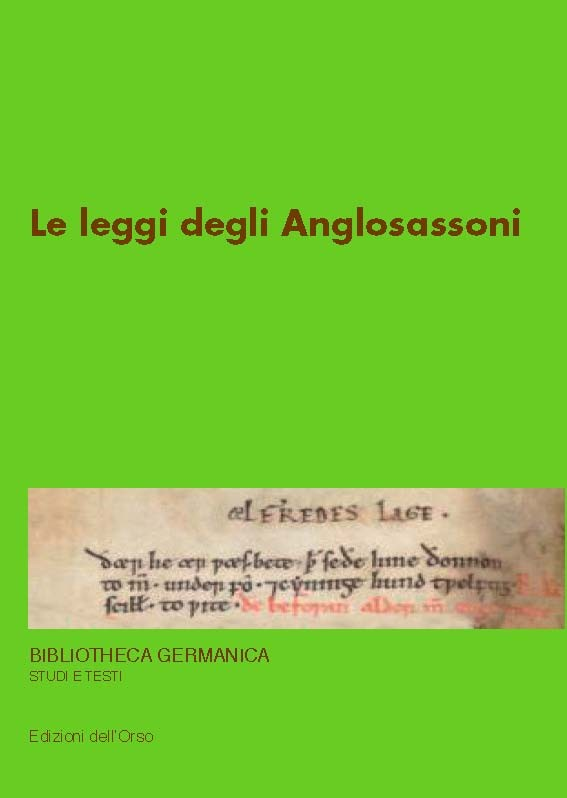 Le leggi degli Anglosassoni