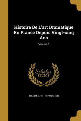 HISTOIRE DE LART DRAMATIQUE EN