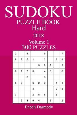 300 Hard Sudoku Puzzle Book - 2018