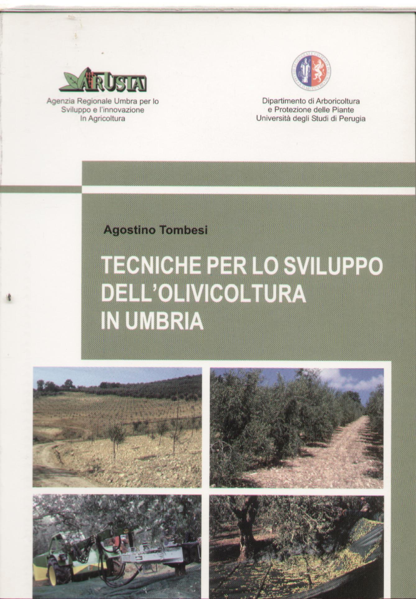 Tecniche per lo sviluppo dell'olivicoltura in Umbria