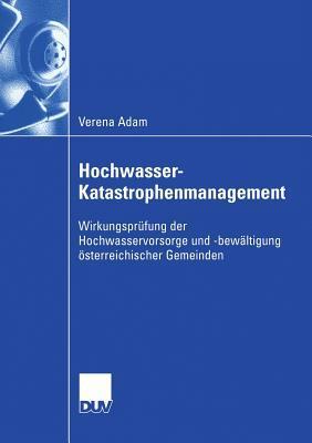Hochwasser-katastrophenmanagement