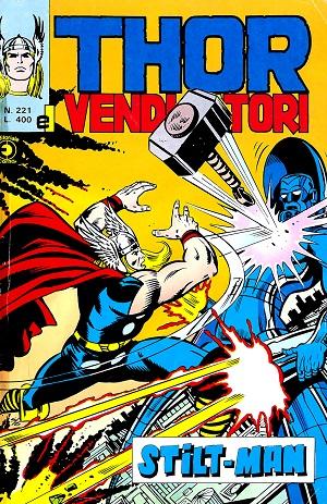 Thor e i Vendicatori (Il Mitico Thor) n. 221