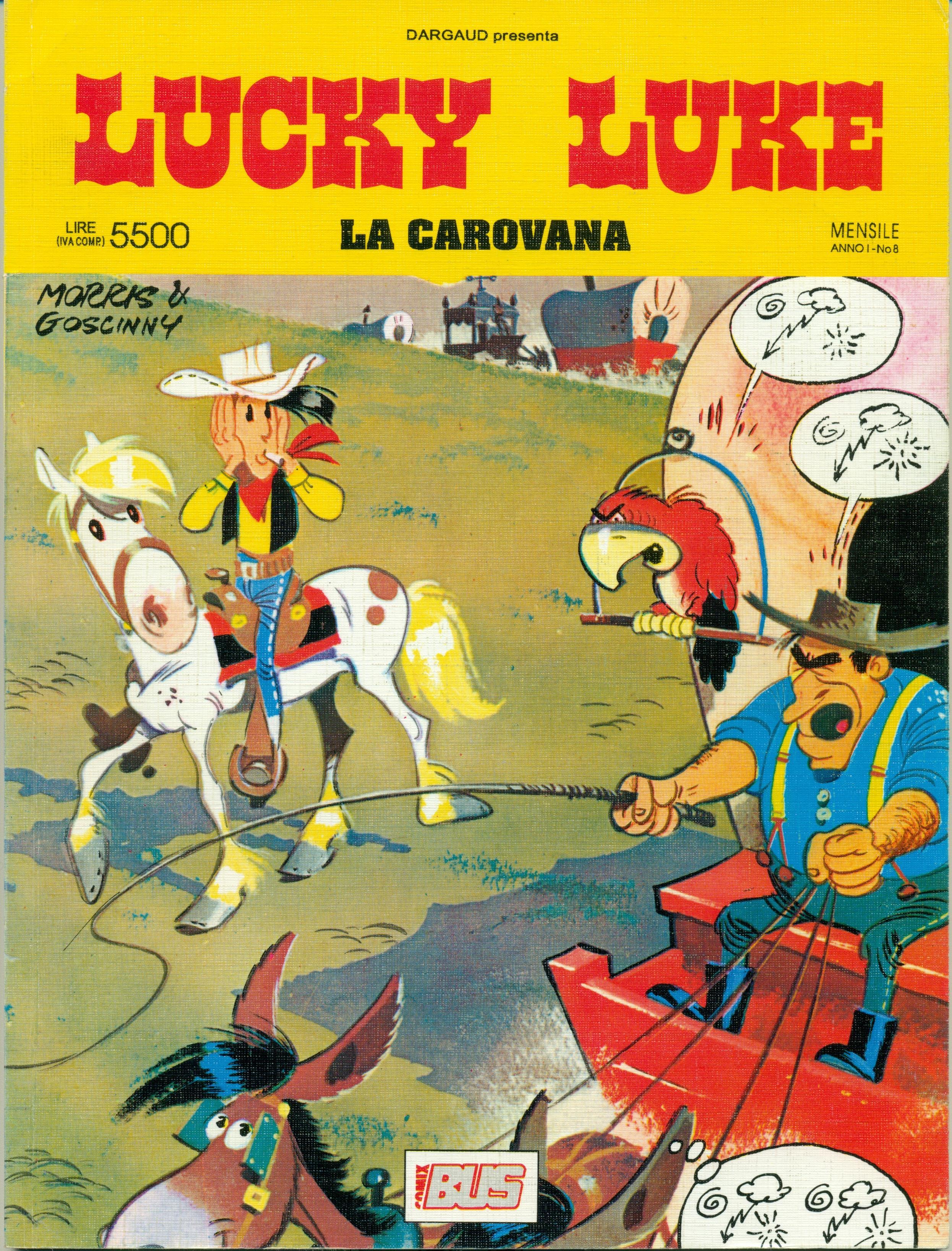 Lucky Luke - La carovana
