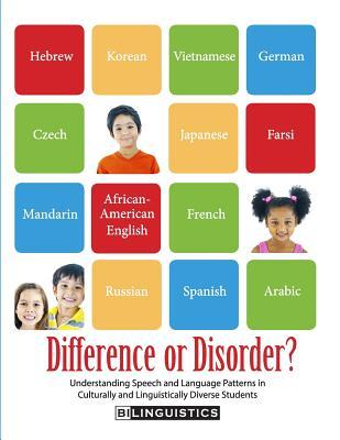 Difference or Disorder