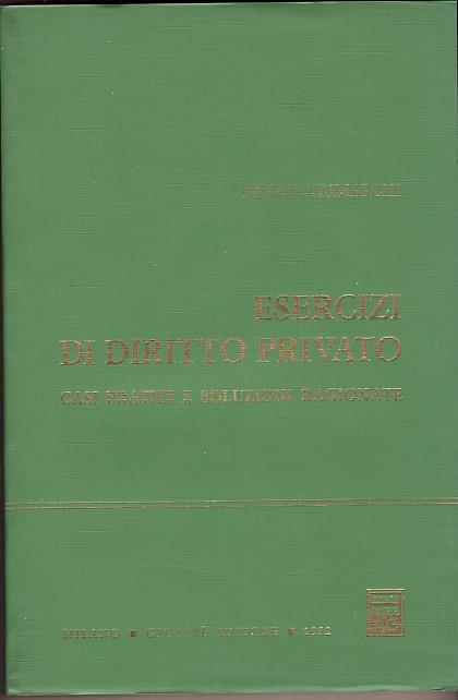 Esercizi di diritto privato