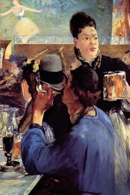 Corner of a Cafe Concert by Edouard Manet - 1880 Journal