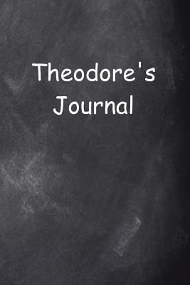Theodore Personalized Name Journal