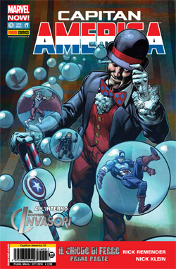 Capitan America #17 Marvel Now!