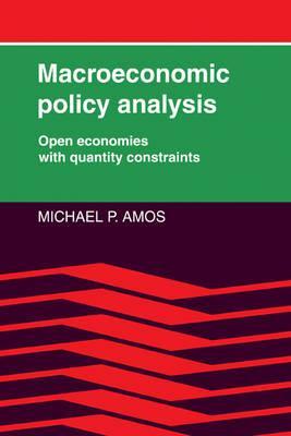 Macroeconomic Policy Analysis