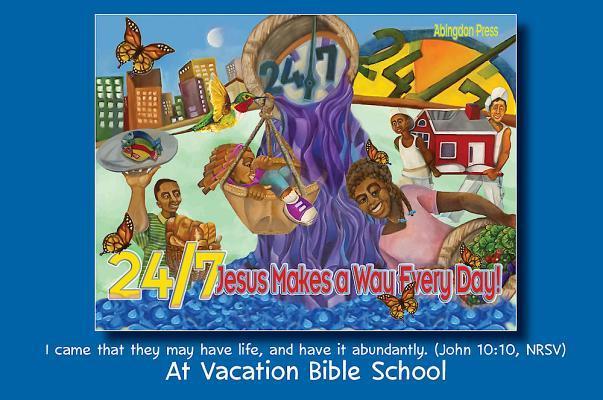 Vacation Bible School Vbs 2018 24/7 Invitation Postcards