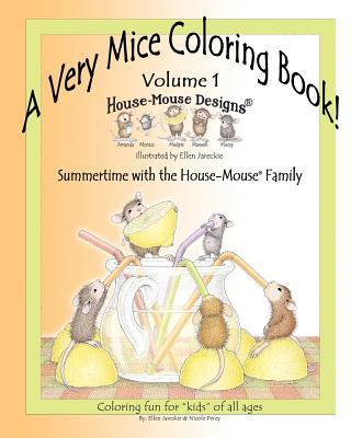 A Very Mice Coloring Book
