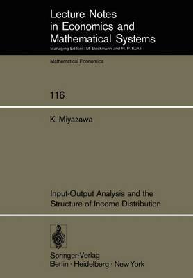 Input-Output Analysis and the Structure of Income Distribution